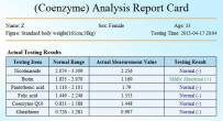 Jumlah Co-enzyme dalam badan