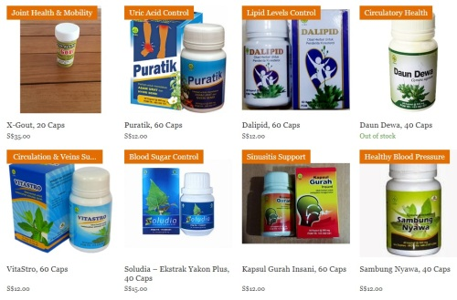 List of supplements at www.hijamateam.com